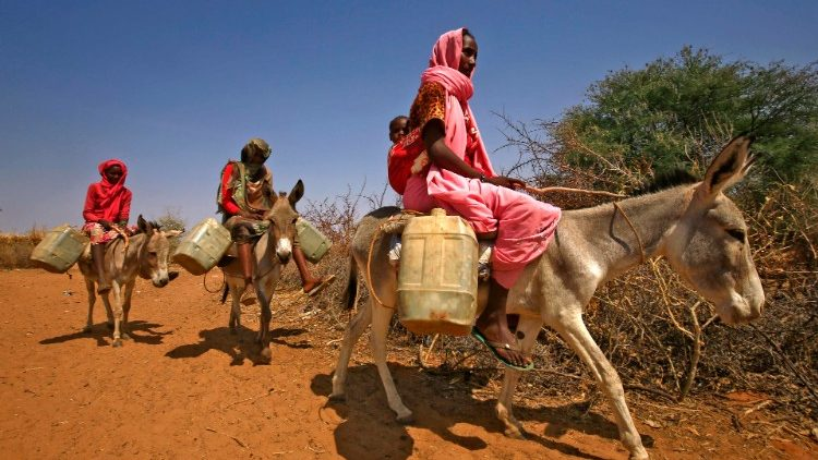Sudanese women in the restive Darfour region