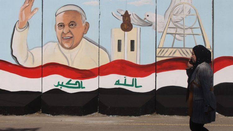Le Souverain pontife argentin est attendu en Irak du 5 au 8 mars 2021.
