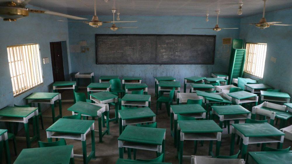 Escola em Jangebe onde as meninas foram sequestradas