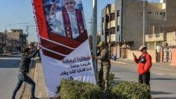 Iraqi people prepare to welcome Pope Francis