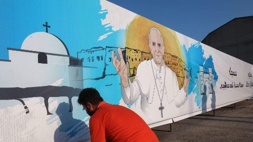 IRAQ-RELIGION-CHRISTIANS-POPE