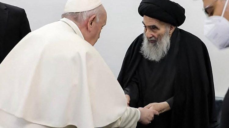 ĐTC thăm Đại Ayatollah Al-Sistani