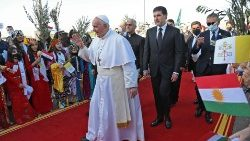 IRAQ-VATICAN-POPE-KURDS