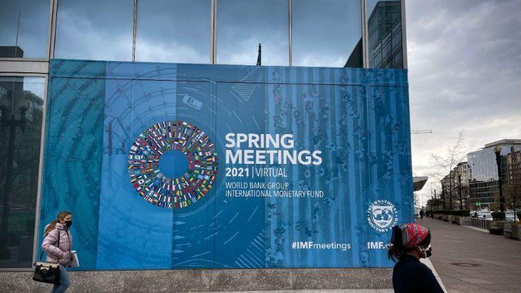 Les réunions de printemps du FMI et de la Banque mondiale se tiennent à Washington du 5 au 11 avril 2021.