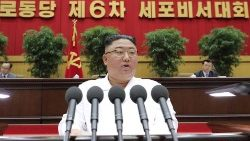 Kim Jong Un warns of effects of economic crisis