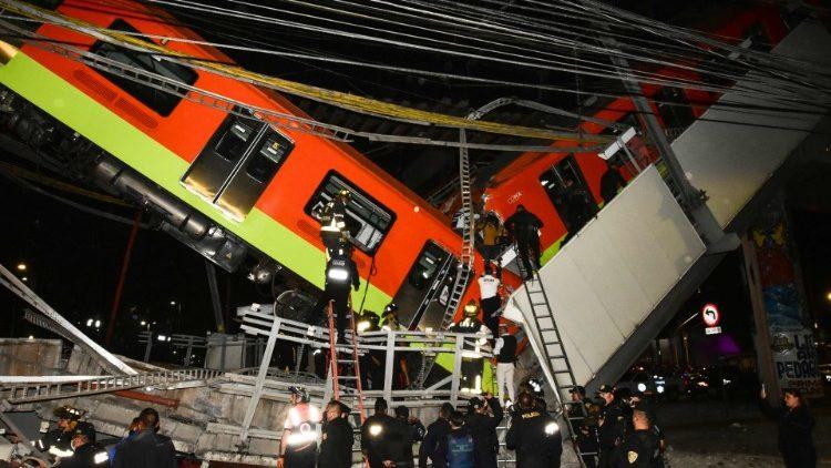 Các giám mục Mexico kêu gọi cầu nguyện cho các nạn nhân tai nạn tàu điện ngầm