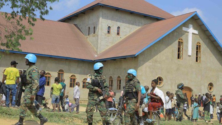 Nhà thờ nơi bị đặt bom