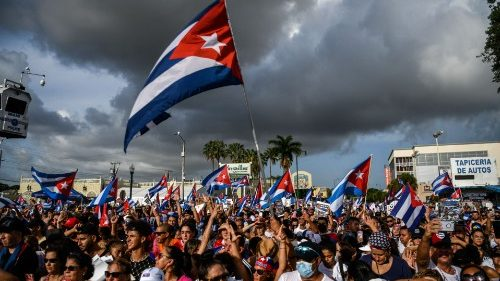 Cuba protests: Authorities ease customs restrictions on food, medicine