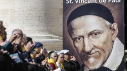 Participants in the 400th anniversary audience granted to the Vincentian Family