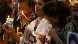 Relatives memorial for victims of alleged extra-judicial killings
