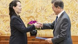 South Korean President Moon receives invitation from the North