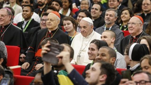 Pope Francis - Pre-synodal meeting with young