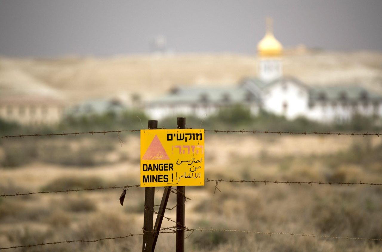 Heiligland: Minenräumung des Klosters der Taufe Jesu