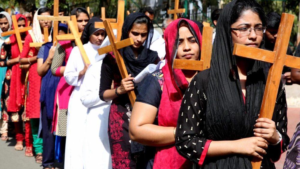 Resultado de imagen de cristianos india