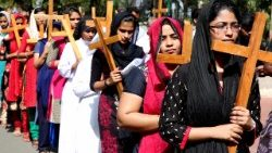Christians in India constitute about 2.3 percent of India's population.