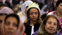 Egyptian Coptic Christians celebrate Palm Sunday
