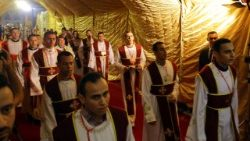 EGYPT BELIEF EASTER MASS