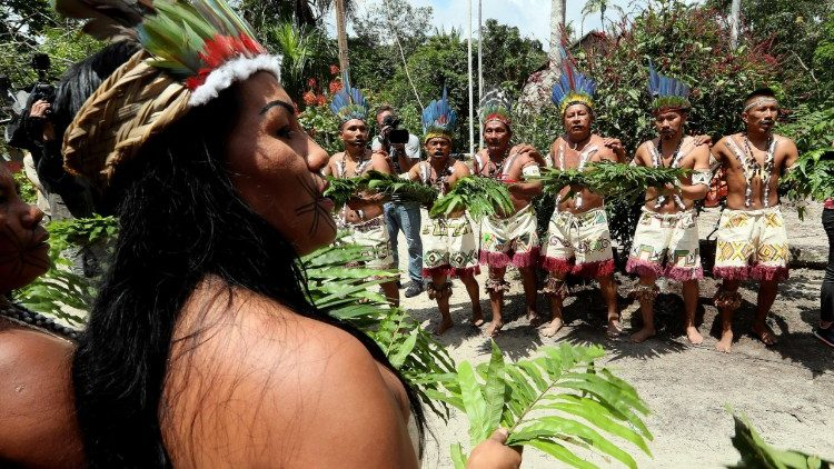 Amazonia's Witoto indigenous people in Leticia, Colombia.