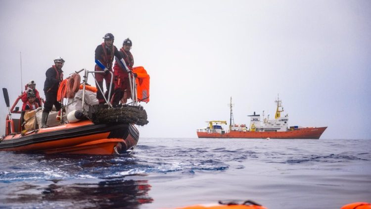 AT SEA MIGRATION RESCUE OPERATIONS