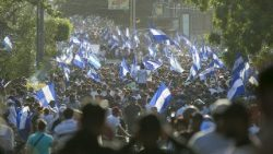 Demonstrators call for Ortega's departure from government in Nicaragua