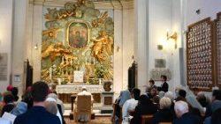 ĐTC cầu nguyện xin Đức Mẹ bảo vệ Roma, nước Ý và thế giới khỏi đại dịch corona