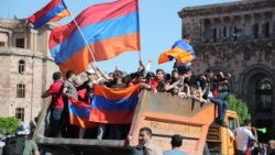 Opposition rally in Armenia