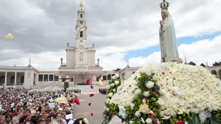 The Shrine of Our Lady of Fatima on May 13