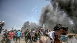 MIDEAST ISRAEL PALESTINIANS CLASHES NEAR THE BORDER EASTERN GAZA