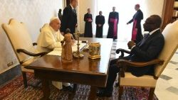 Pope Francis meets President of Benin