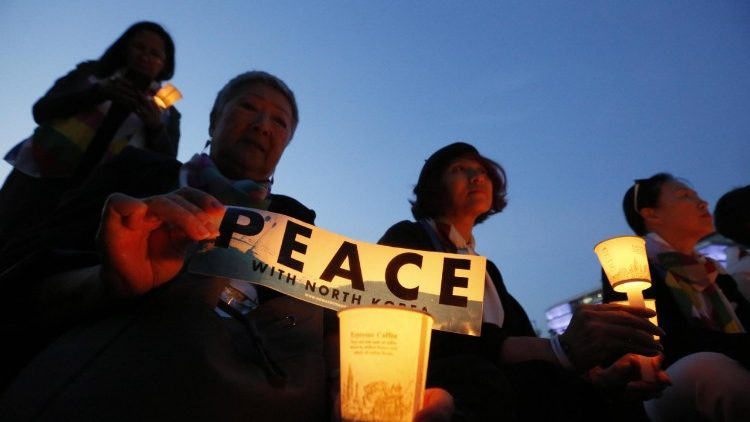 Protest against cancelled summit between US and North Korea in Seoul