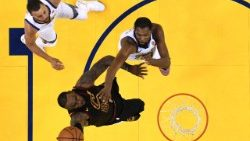La finale de la NBA entre Cleveland et les Golden State Warriors.