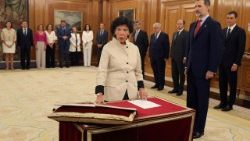 Swearing-in ceremony for Spain's new cabinet
