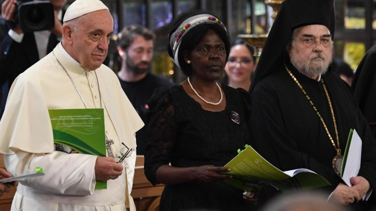SWITZERLAND POPE VISIT WORLD COUNCIL OF CHURCHES