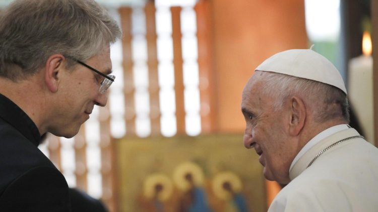 Pope Francis visits the World Council of Churches
