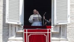 Angelus by Pope Francis in St. Peter's square
