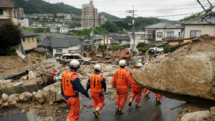 Heavy rain kills 81 people and leaves dozens missing in Japan