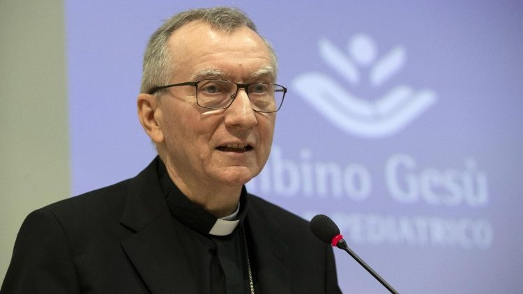 Cardinal Parolin reflection the disastrous steps taken by world leaders after world war I.