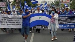 March in support of doctors fired for tending to protesters in Nicaragua