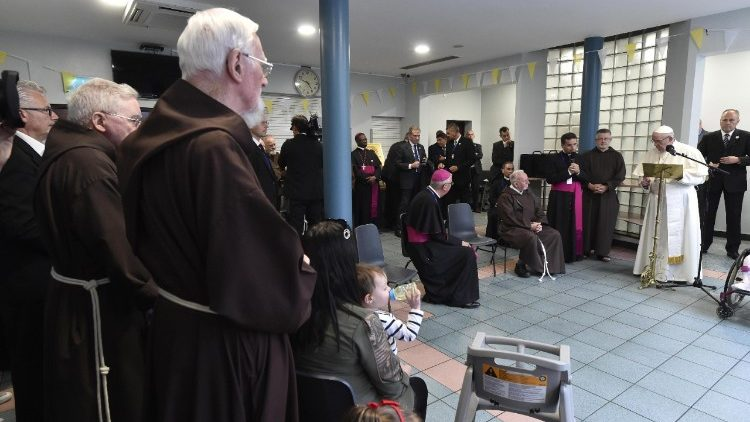 IRELAND POPE FRANCIS VISIT - in-community-of-capuchin-friars