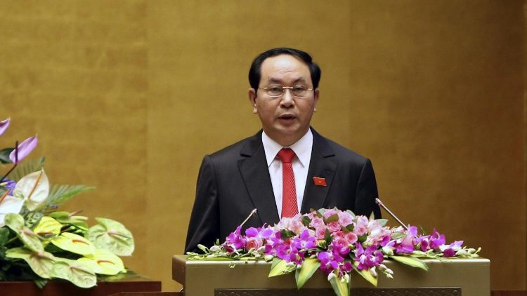 File pircture of the late President of Vietnam