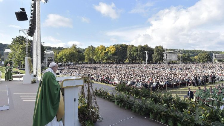 Pope Francis in Kaunas