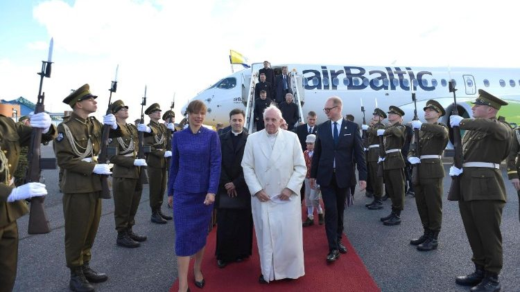 Pope Francis in Estonia