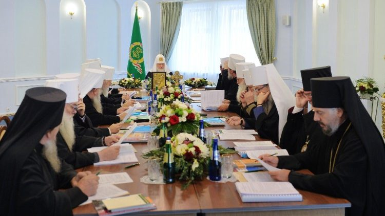 Meeting in Minsk of the Holy Synod of the Russian Orthodox Church