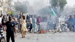 Protests in Pakistan following the acquittal of Asia Bibi