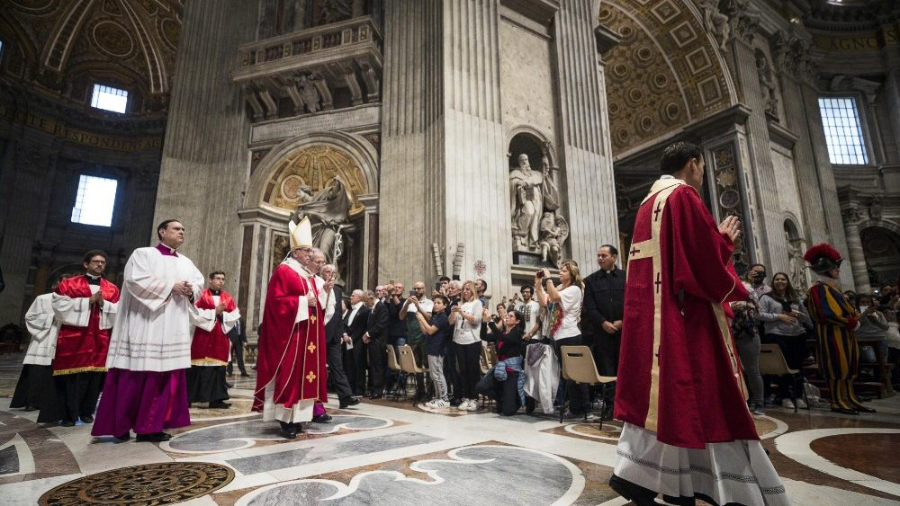 Mass for the departed Cardinals and Bishops