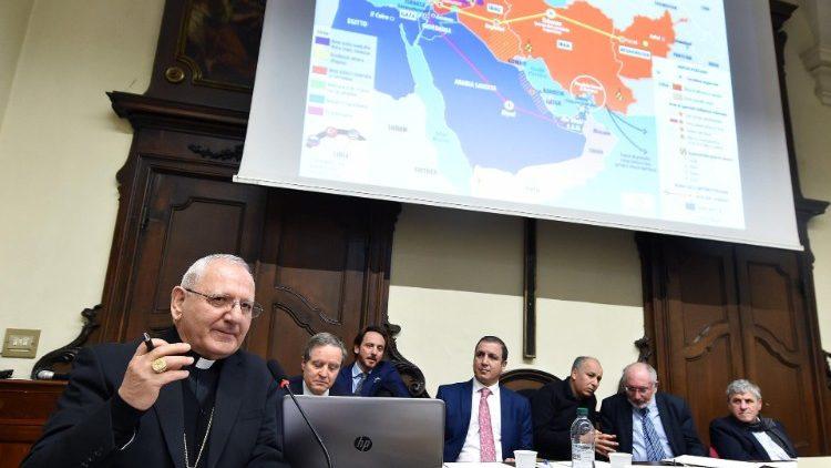 Hội thảo về Trung Đông tại Torino 12/11/2018