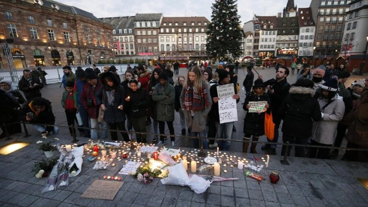 Shooting aftermath in Strasbourg