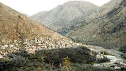 Imlil, 10km from where the bodies of two Scandanavian tourists were found.