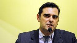 Le nouveau directeur de la Salle de Presse par intérim, Alessandro Gisotti.
