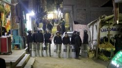 Egyptian police officer killed defusing bomb near Coptic church outside Cairo
